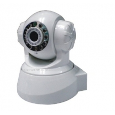 H.264 Pan Tilt IP Camera with IR Cut and Mobile Browsing Support 32G TF SD Card