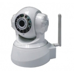 H.264 Wireless Pan Tilt IP Camera with IR Cut and Mobile Browsing Support 32G TF SD Card