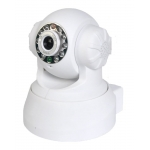 Pan Tilt IR 15M IP Camera with E-mail Alert and Mobile Browsing