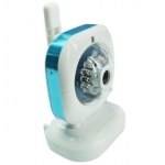 Wireless Pan Tilt IR 15M IP Camera with E-mail Alert and Mobile Browsing in Special Design