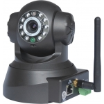 Wireless Pan Tilt IR 15M IP Camera with E-mail Alert and Mobile Browsing