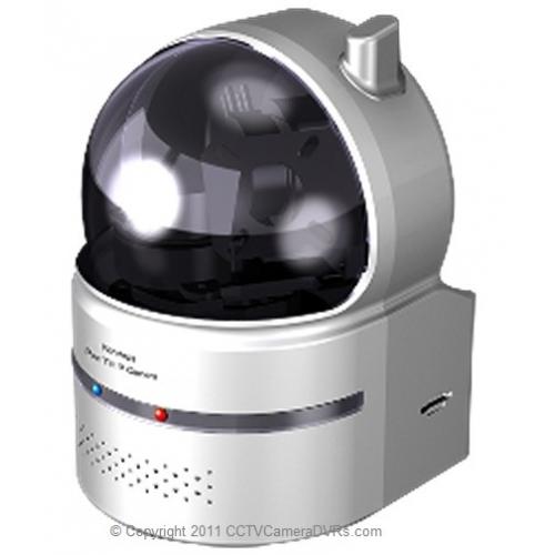 True Plug Amp Play Wide Range Pan Tilt Wireless Infrared Ir