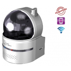 Home Use True Plug & Play Wide Range Pan Tilt Wireless Infrared IR IP Camera with SD Card Slot Motion Detection Snapshot and Built-in Microphone Professional Apps are Available for iPhone, Android and Windows Mobile Phone