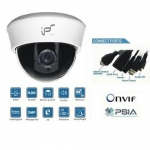 2 Mega Pixel High Definition Waterproof IP network Dome camera PoE Onvif conformant and IR CUT