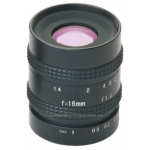 16mm 5 mp Mega Pixel CCTV Camera Lens Manual Iris