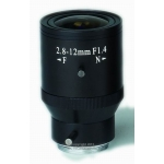 2.8-12mm F1.4 Manual Iris CS Mount CCTV Camera Lens