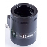 "9-22mm 1/3"" F1.6 IR MP M12 M14-Mount Motorized Focus CCTV Camera Lens"