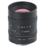 20mm 8 mp Mega Pixel CCTV Camera Lens Manual Iris