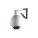 480TVL Outdoor / Indoor 18X Zoom Speed Dome PTZ CCTV Camera with OSD menu