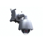 420TVL Outdoor / Indoor 10X Zoom high Speed Dome PTZ CCTV Camera with OSD menu