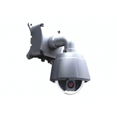 480TVL Outdoor / Indoor 10X Zoom High Speed Dome PTZ CCTV Camera with OSD menu