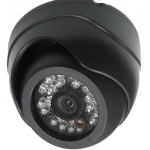 420TVL SONY CCD 3.6mm Lens Shake-Resist CCTV Mobile Vehicle Dome Camera IR Range 15M 45FT Built-in Mic