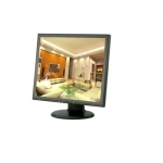 17'' High Definition LCD CCTV Monitor HDMI Interface and Built-in Stereo Speakers with Remote Control and Desktop Stand