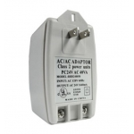 US to UK Power Plug Adapter Converter for CCTV Camera Input AC120V Output AC24V 1.66A