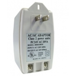 US to UK Power Plug Adapter Converter for CCTV Camera Input AC120V Output AC24V 0.83A