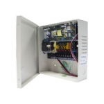4 Channel/Camera CCTV Security Camera Power Supply Box 12V DC 3 AMPs