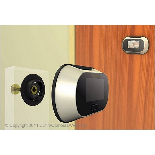 Mega Pixel 2.5-Inch LCD Peephole Camera Viewer 56-Degree Viewing Angle