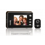 0.3 Mega Pixel 2.4-Inch LCD Peephole Camera Viewer with 120-Degree Viewing Angle 2GB Build-in Memory and Auto Picturing and Filming Functions