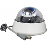 Pixim Seawolf 690HTVL-E Resolution 4-9mm IR 20M 60FT Indoor Dome CCTV Camera with 120dB Ultra WDR Range OSD Menu 3D-DNR and 3-Axis Bracket