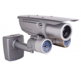 Pixim Seawolf 690HTVL-E Resolution 5-50mm IR Range 100M 300 Feet Waterproof All-weather Bracket Bullet Camera with 120dB Ultral WDR Range OSD Menu and 3D-DNR