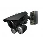 Pixim Seawolf 690HTVL-E Resolution 9-22mm IR Range 180FT 60M All-weather Bracket Bullet Camera with 120dB Ultral WDR Range OSD Menu and 3D-DNR