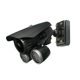 Pixim Seawolf 690HTVL-E Resolution 9-22mm IR Range 180FT 60M All-weather Bracket Bullet Camera with 120dB Ultral WDR Range OSD Menu and 3D-DNR