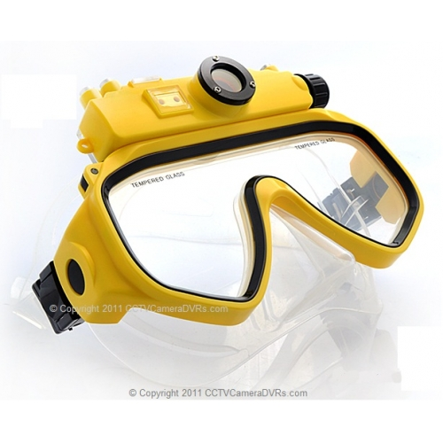 5 Mega Pixel 720P High Definition Underwater Diving Mask