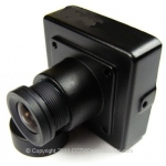 3.5-10mm Varifocal Lens 520TVL Miniature Mini Hidden CCTV Spy Camera SONY CCD