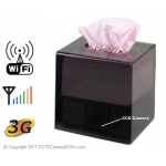 Wifi IP CCD 480TVL Mini DVR Tissue Box Covert DVR Hidden Spy Camera Support 32GB SD Card