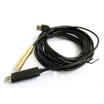 15M Meters 45 Feet FT 4 LED USB Waterproof Endoscope Borescope Snake Inspection Camera