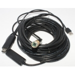 25M Meters 100 Feet FT 4 LED Waterproof Endoscope Borescope Snake Inspection Camera