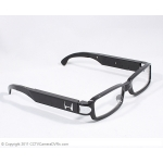 High Resolution Optical Glasses Hidden Spy Camera