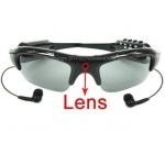 1.3 Mega Pixel Sun Glasses Hidden Spy Camera with Hifi Ear Phone and Bluetooth Connection 2GB