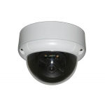 600TVL 1/3 Sharp CCD 2.8-12mm outdoor Day/Night Compact CCTV Dome Camera with 3 axis bracket